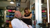 Bob's beard trim in Caen