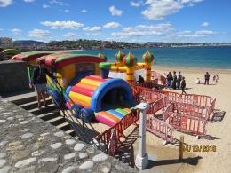 Playground on Beach