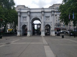 The Marble Arch in Hyde Park