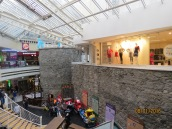 Part of Medieval Wall inside Eyre Square Shopping Center