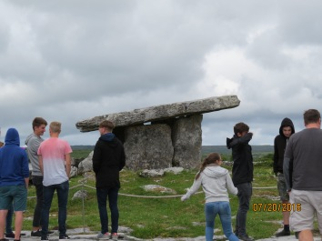 Poulnabrone Bolmen (dating to before the Pyramids)