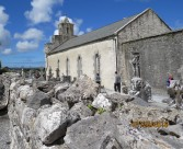 Kilfenora Cathedral with Celtic Crosses