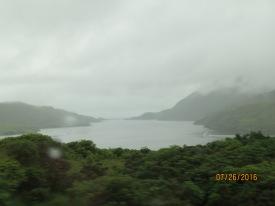Fjords, pretty even in the rain