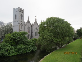 Views from the walk along the Corrib River.