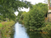The Corrib River, the shortest river in Europe
