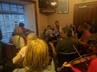 Local Musicians at the Western Hotel
