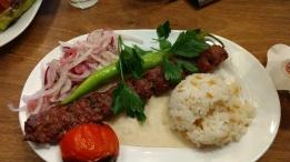 My yummy Turkish dinner