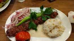 My yummy Turkish dinner