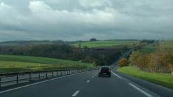 drive from luxembourg to paris still green