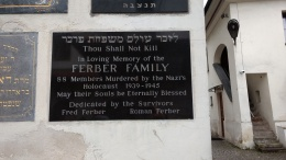 family memory plaque