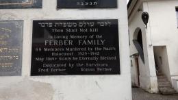 family memory plaque