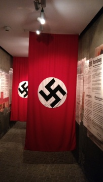 nazi flags in schindler factory