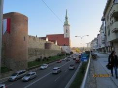 wall of bratislava