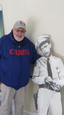 Bob and Barney in Mt. Airy Visitors Center