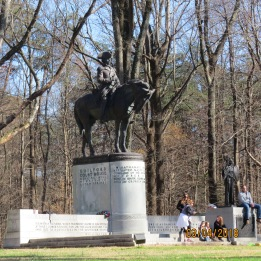 Revolutionary War Statue of General Nathanael Greene