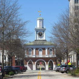 Fayetteville Market Place (Site of ratification of US Constitution and also a slave auction site)