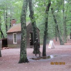 Replica of Thoreau's Hut