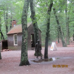 Replica of Thoreau's Hut